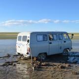 Vast in Mongolië
