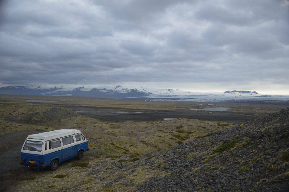 Met de auto naar IJsland