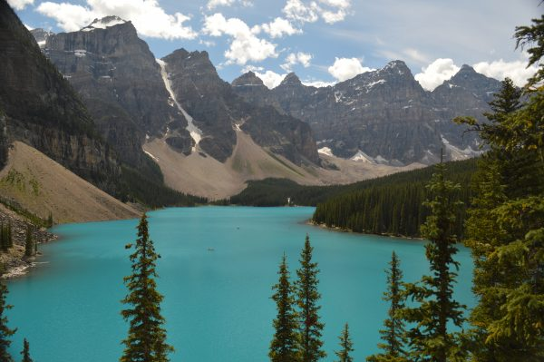 Moraine Lake - Eén van de mooiste meren in West-Canada