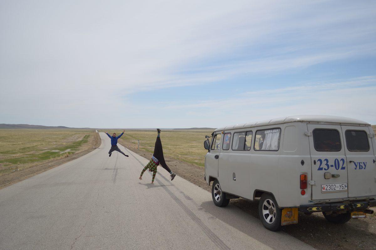 Vette voertuigen voor vakantie: Russisch busje