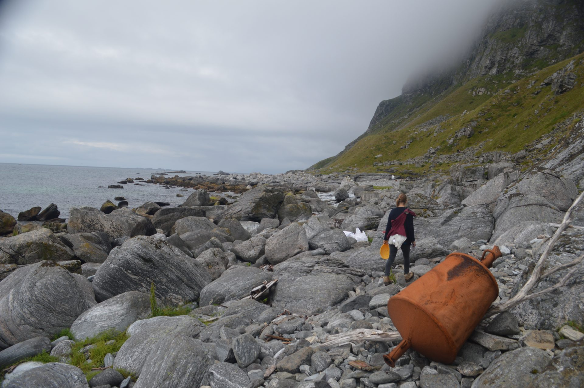 Afval opruimen Værøy