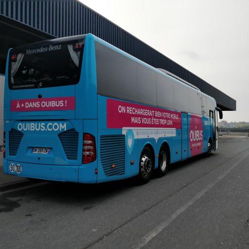 met het openbaar vervoer naar Frankrijk
