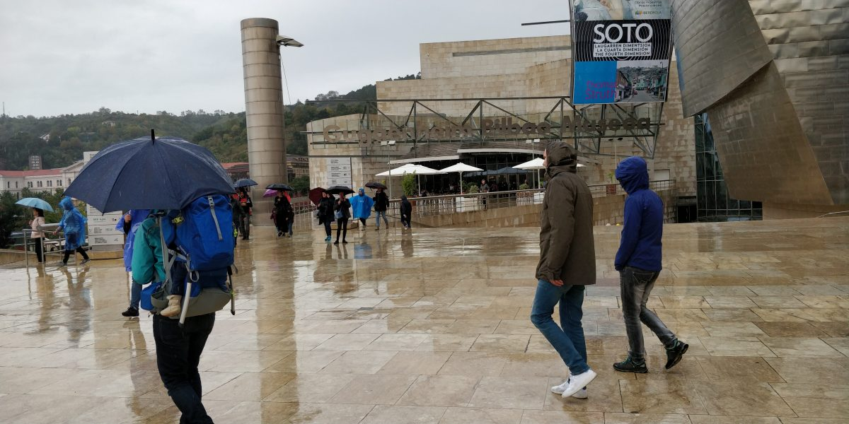 regen in de herfst in zuid europa