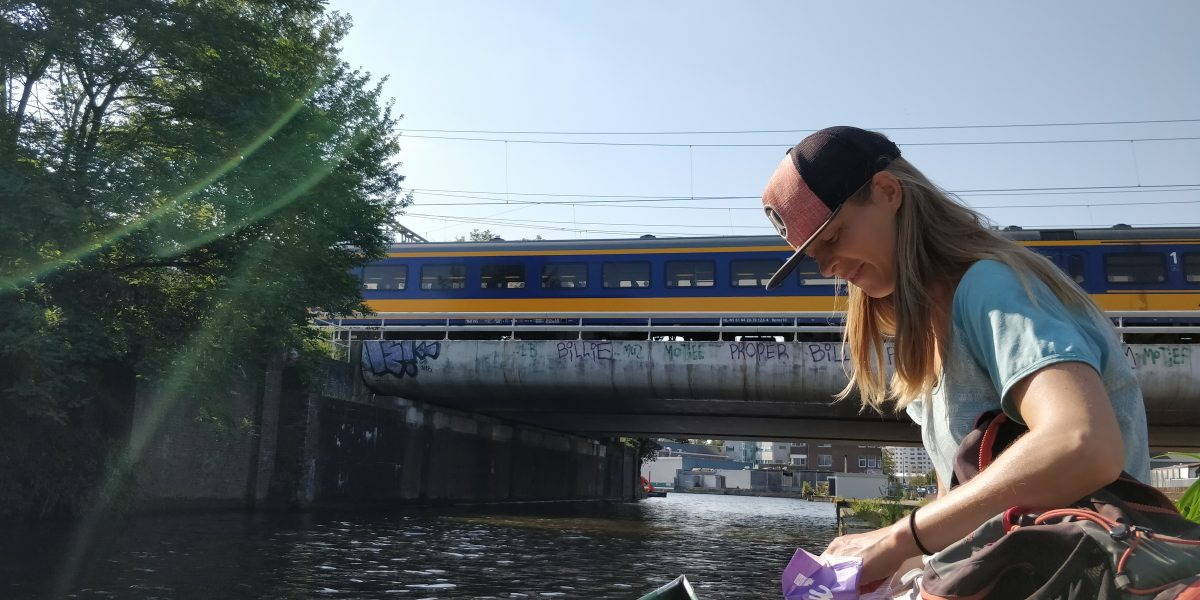 Lange kanotocht vanuit Den Haag