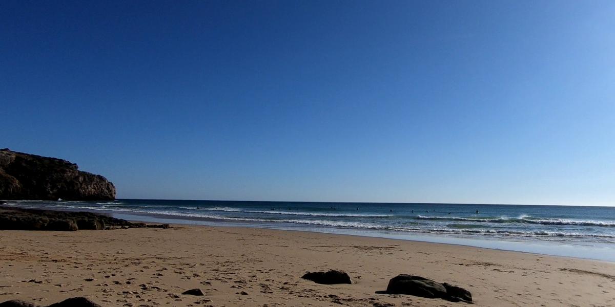 Surfen bij Vila do Bispo Praia do Zavial
